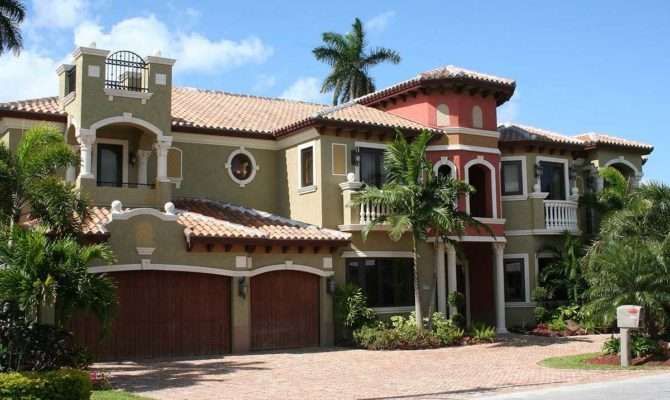 Two Story Luxury Mediterranean Home Plan