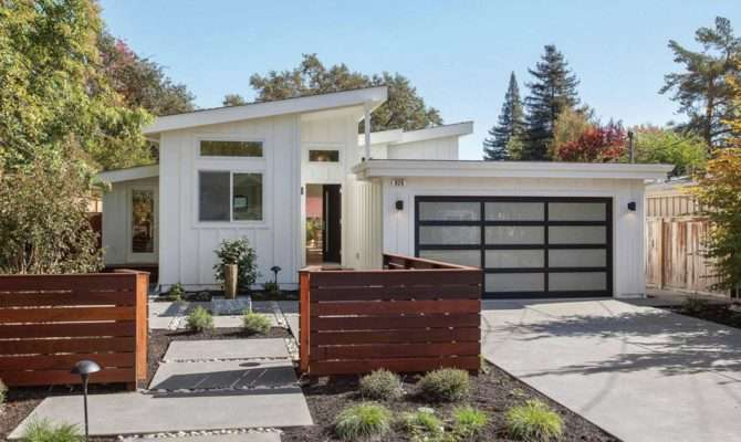 Two Story Mid Century Modern House Plans