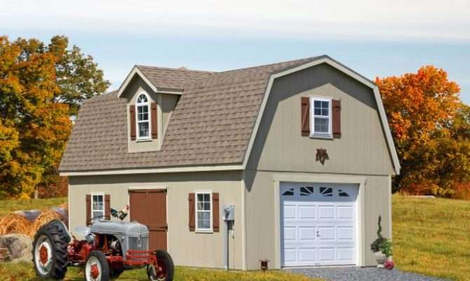Two Story One Car Garages Prices