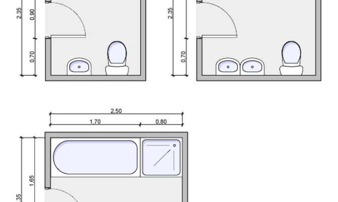 Types Bathrooms Layouts