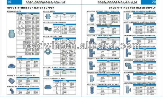 Types Plumbing Materials Plastic Pvc Pipe Fittings Buy