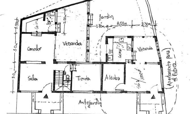 Typical House Plan Drawn Assistance Draftsperson But Still