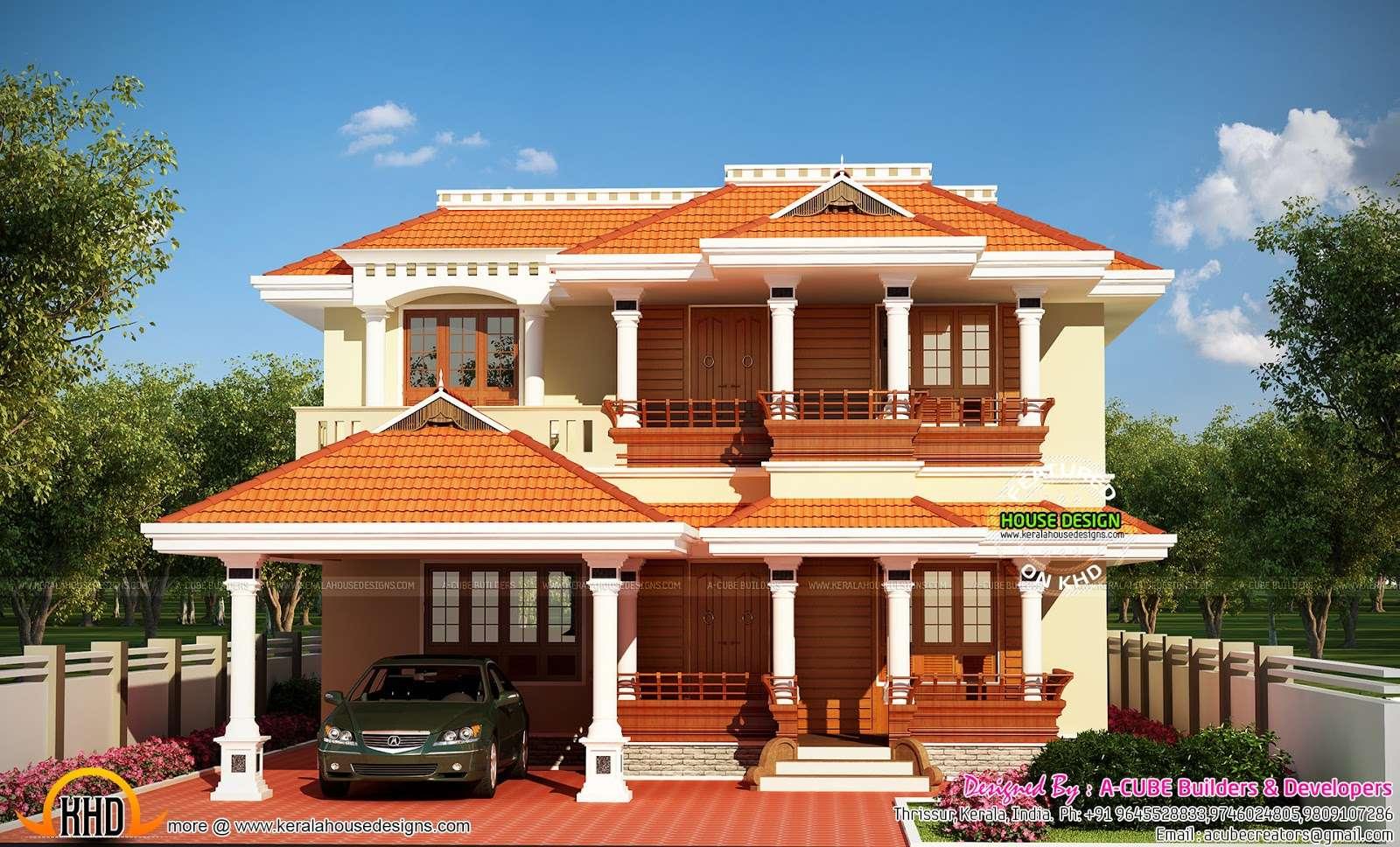 Typical Kerala Home Design Floor Plans