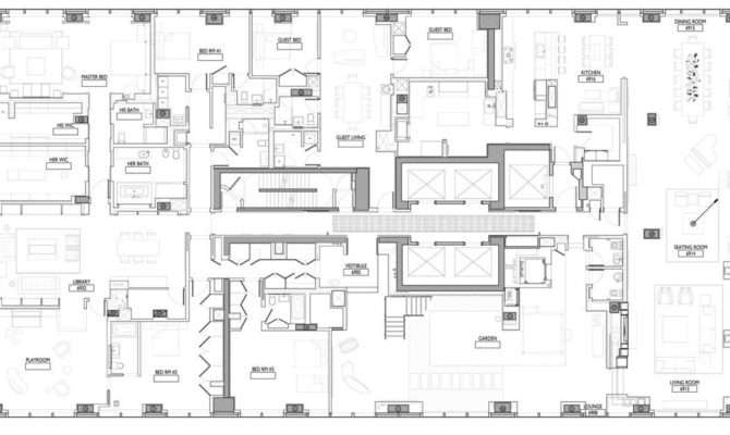 Ultra Luxury Design Billionaire Penthouse New York