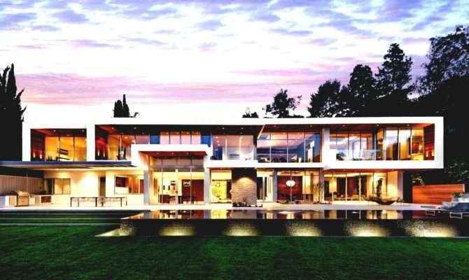 Ultra Modern Architecture House Designs