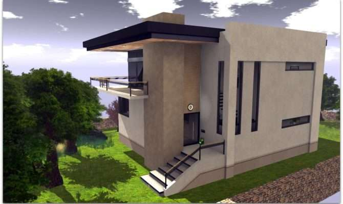 Ultra Modern Concrete House Plans Mira