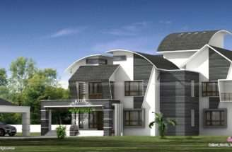 Ultra Modern Contemporary Style Luxury Home Kerala Design