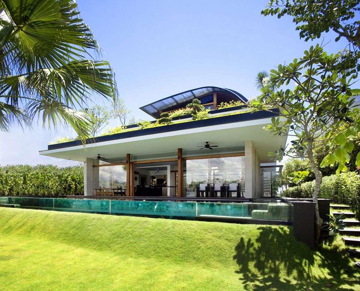 Ultra Modern Green Home Design Theme Photos