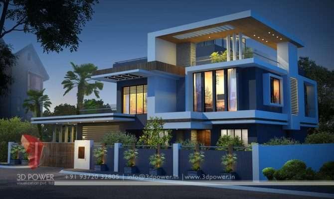 Ultra Modern Home Designs Contemporary Bungalow Exterior