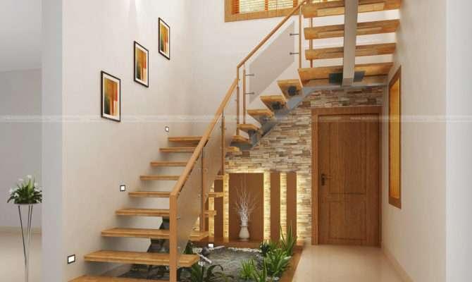 Under Stair Design Wooden Kitchen Living