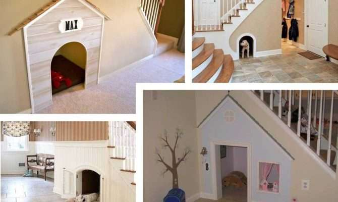Under Stairs Indoor Dog House Pet Sitter Walker Weddington