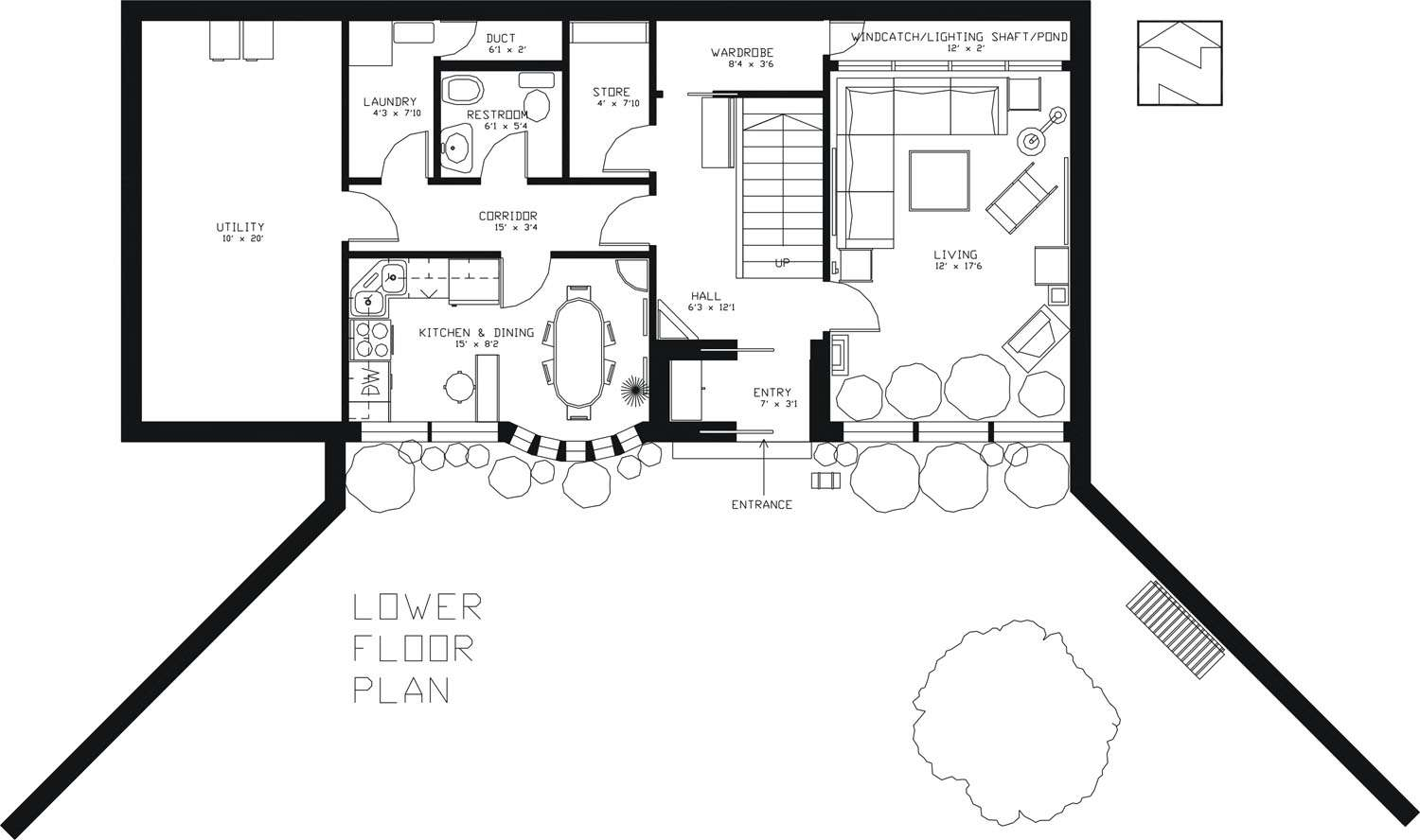 Underground House Plans Home Designs