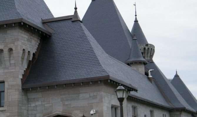 Unfading Black Slate Shingles Premium Roofing Material