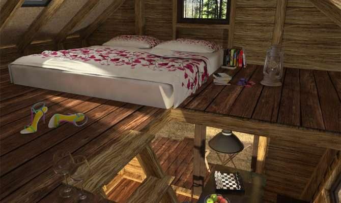 Unique Cabin Plans One Bedroom Homesfeed