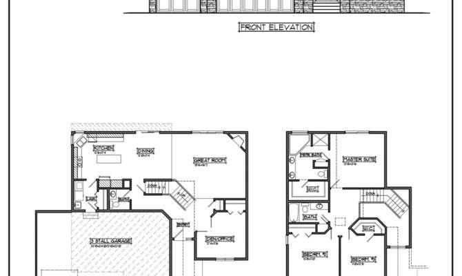 Unique Cheap Home Plans Two Story House