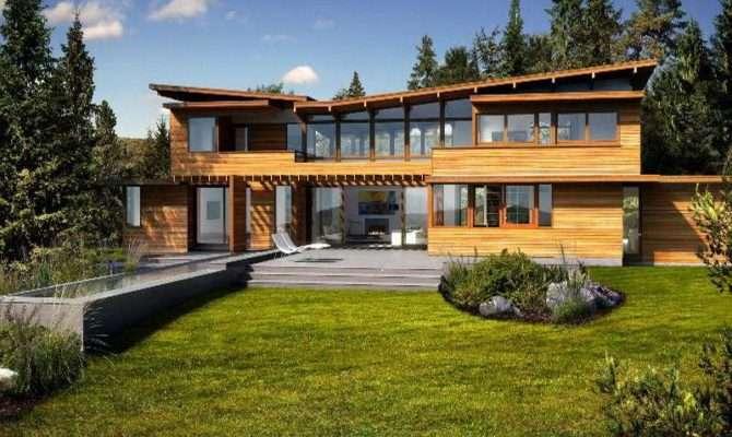 Unique Contemporary Green Homes Your Dream Home