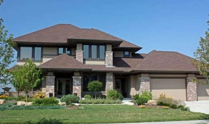 Unique Design Prairie Style House Plans