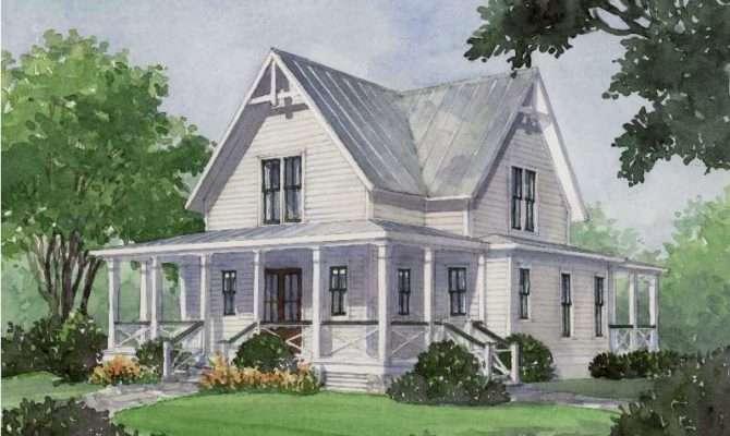 Unique Farmhouse House Plans Southern Living