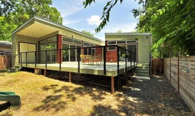 Unique Green Modular Homes Wooden Home