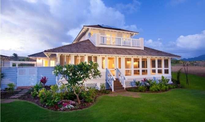 Unique Hawaiian Plantation Style House Plans