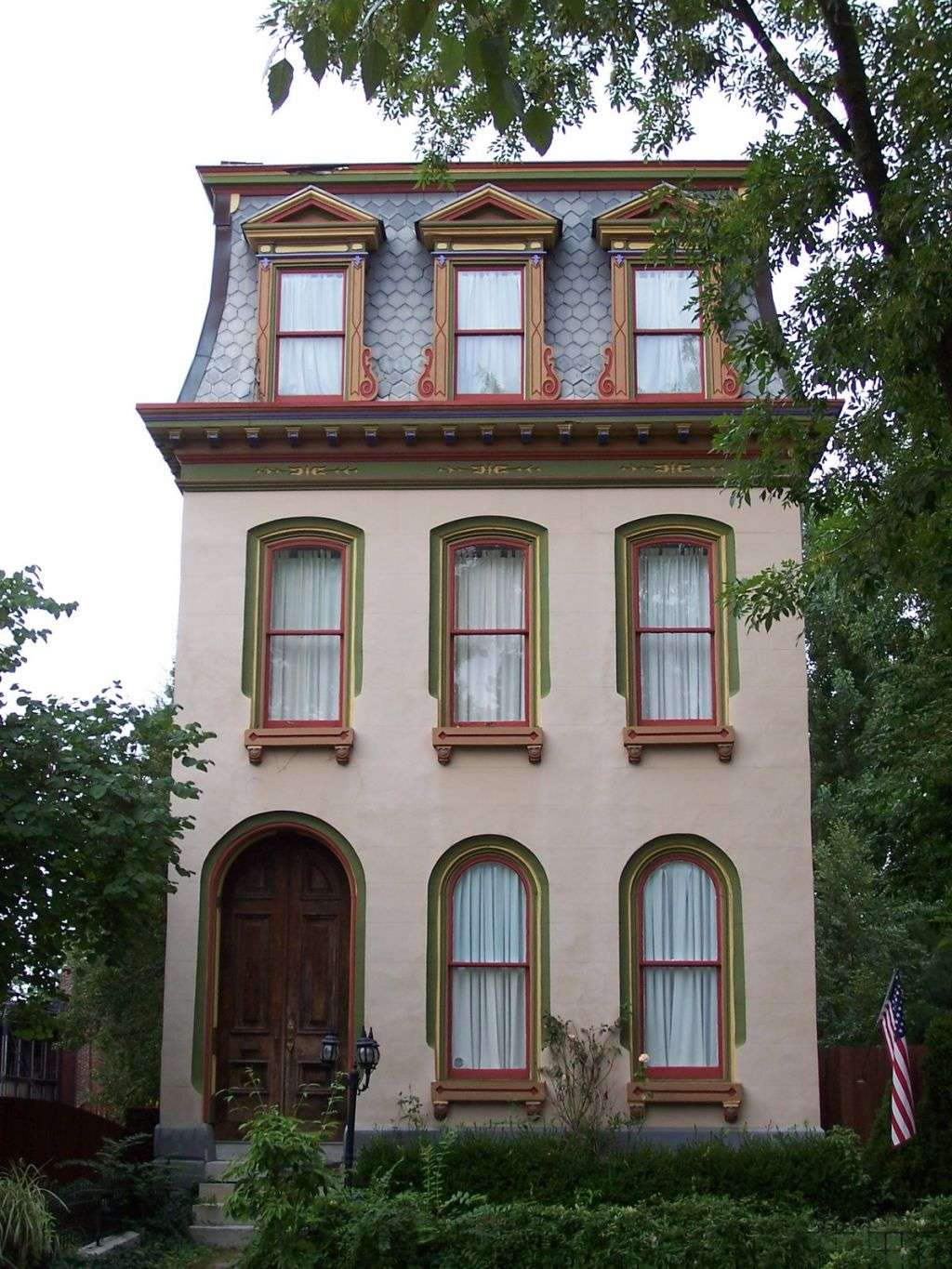 Unique Louis Style Second Empire Italianate