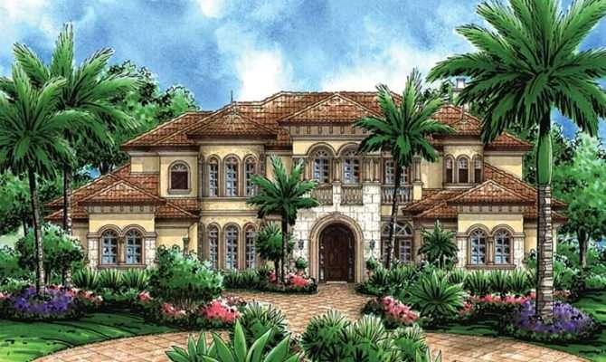 Unique Mediterranean Style House Plans