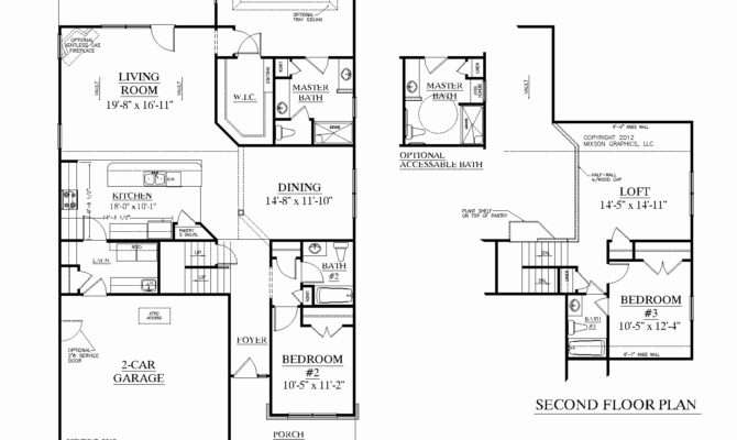 Unique Photos Bedroom Two Story House Plans Home