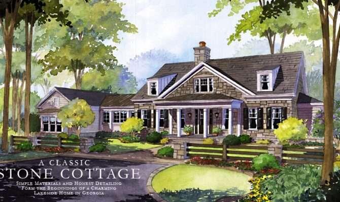 Unique Stone Cottage House Plans Small Stephen