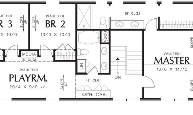 Upper Floor Plan Summerset House