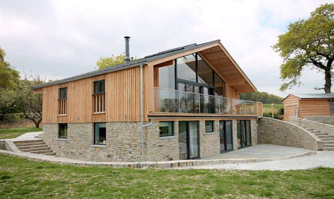 Upside Down House Devon Group Emmett Design Riba