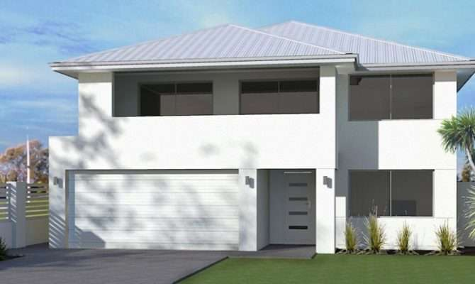 Upside Down Living Home Design Double Storey
