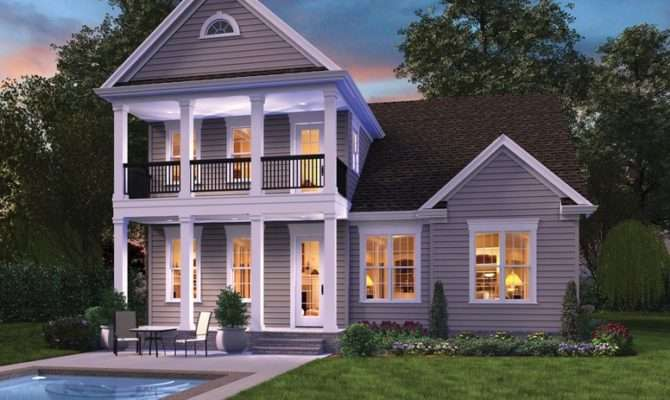Urban Areas Small Lots Don Mean Home Plans