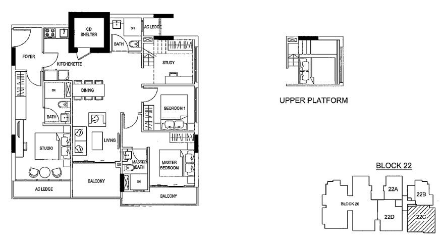 Urban Vista Floor Plan
