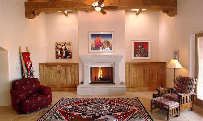 Using Beams Southwest Style Homes