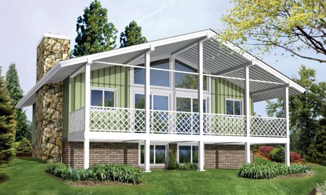 Vacation Getaway House Plans Design