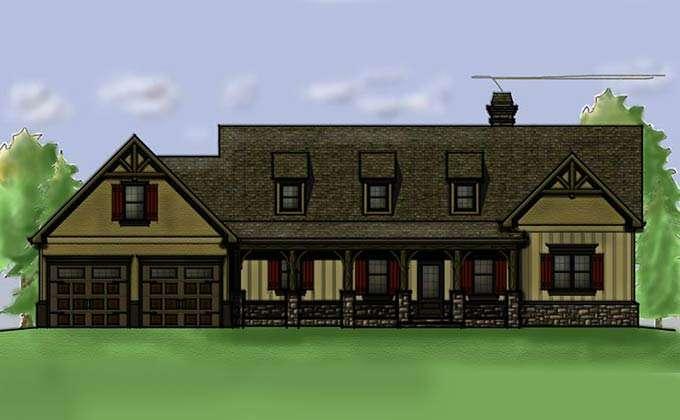 Vacation House Plans Walkout Basement