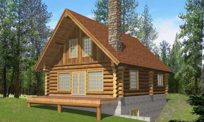 Vacation Log Home Style Cabin Design Coast