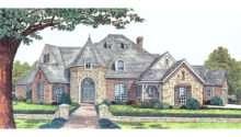 Vanderwood Castle Like Home Plan House Plans More