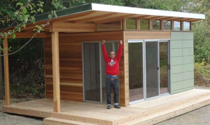 Vashon Island Client Works Home His Modern