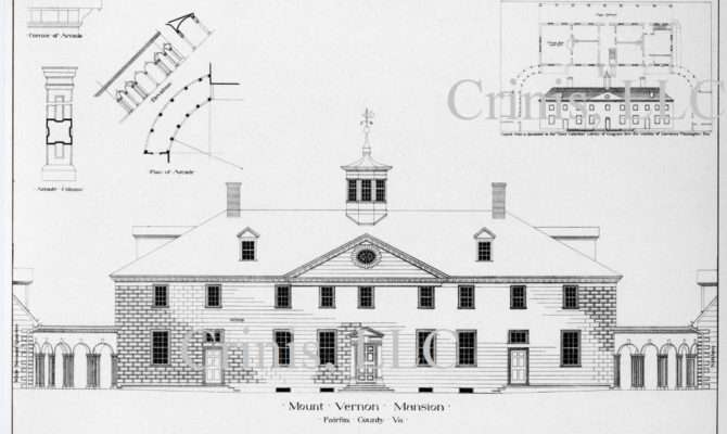 Vernon Architectural Drawing Floor Plan