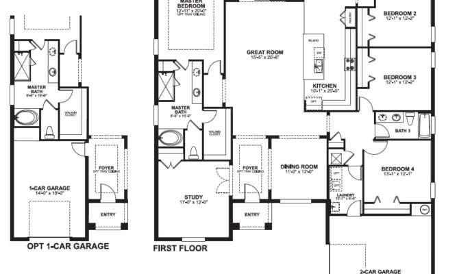 Versailles Sanford Floorplans