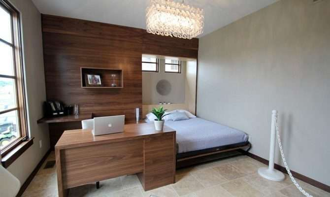 Versatile Home Offices Double Gorgeous Guest Rooms