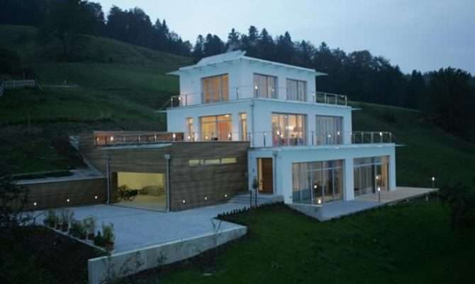 Very Steep Slope House Plans Hillside Home