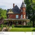 Victorian Brick Bed Breakfast Home