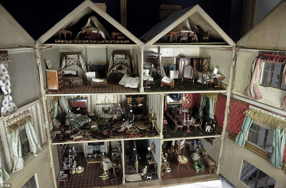 Victorian Doll House Goes Chorley Auction