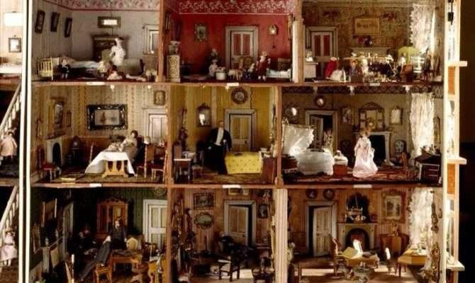 Victorian Doll House Parlors Dollhouse Plans Pinterest