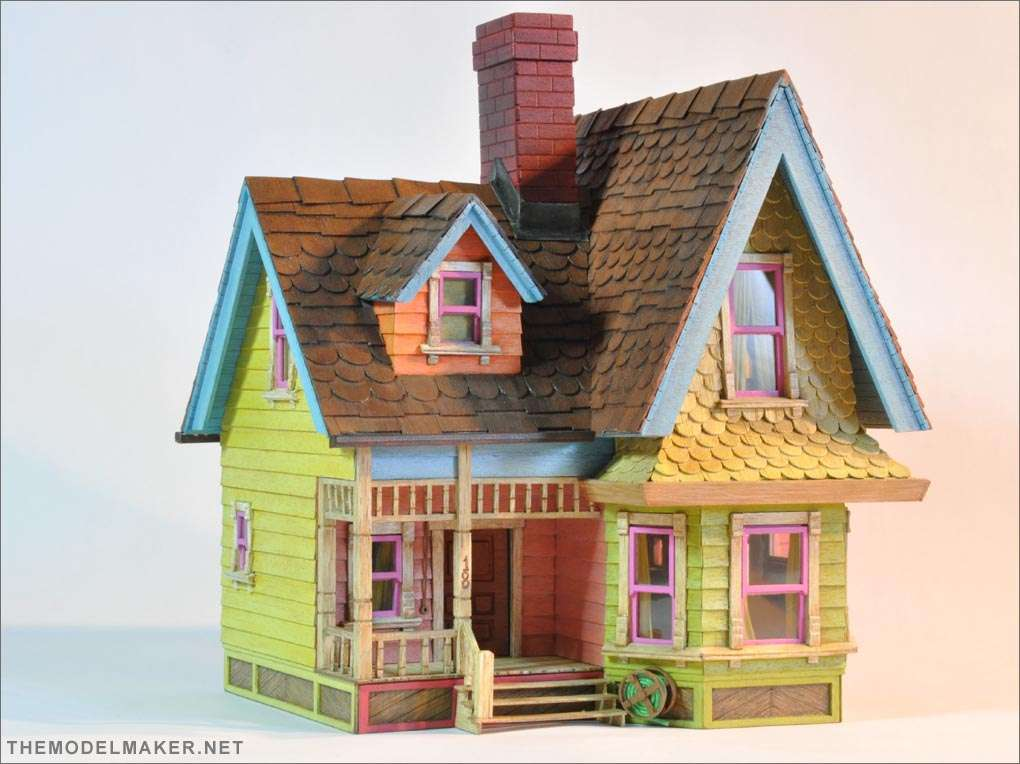 Victorian Dollhouse Disney Pixar Themodelmaker