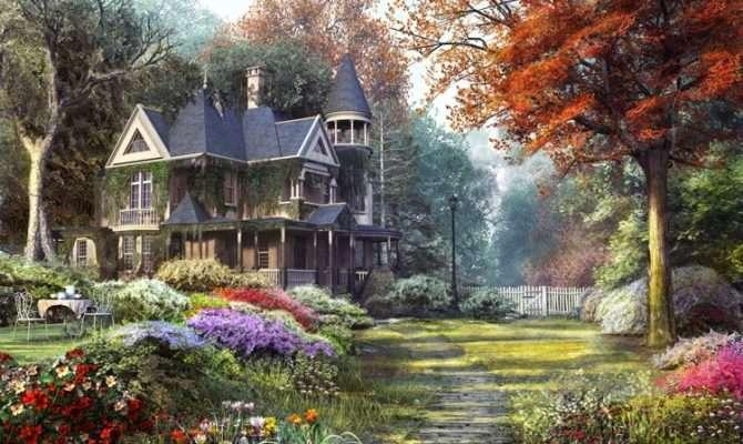 Victorian Garden Dominic Davison Artist