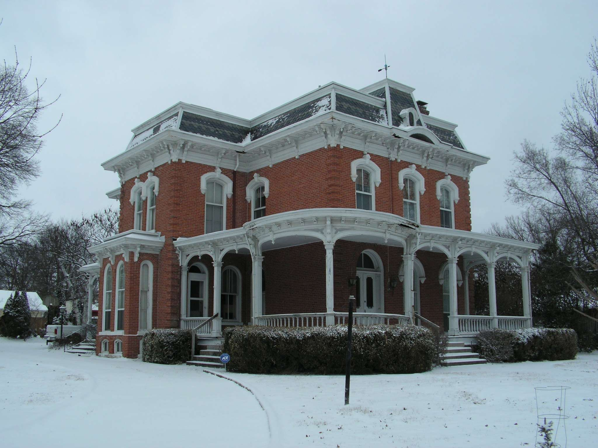 Victorian Home Restoration Second Empire Brick