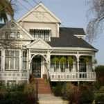Victorian House High Near Madison